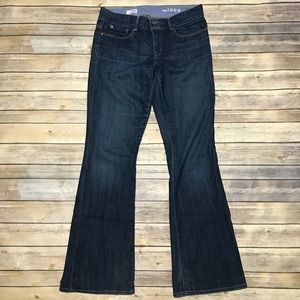 Gap 1969 Perfect Boot Dark Wash Jeans Sz 29/8r